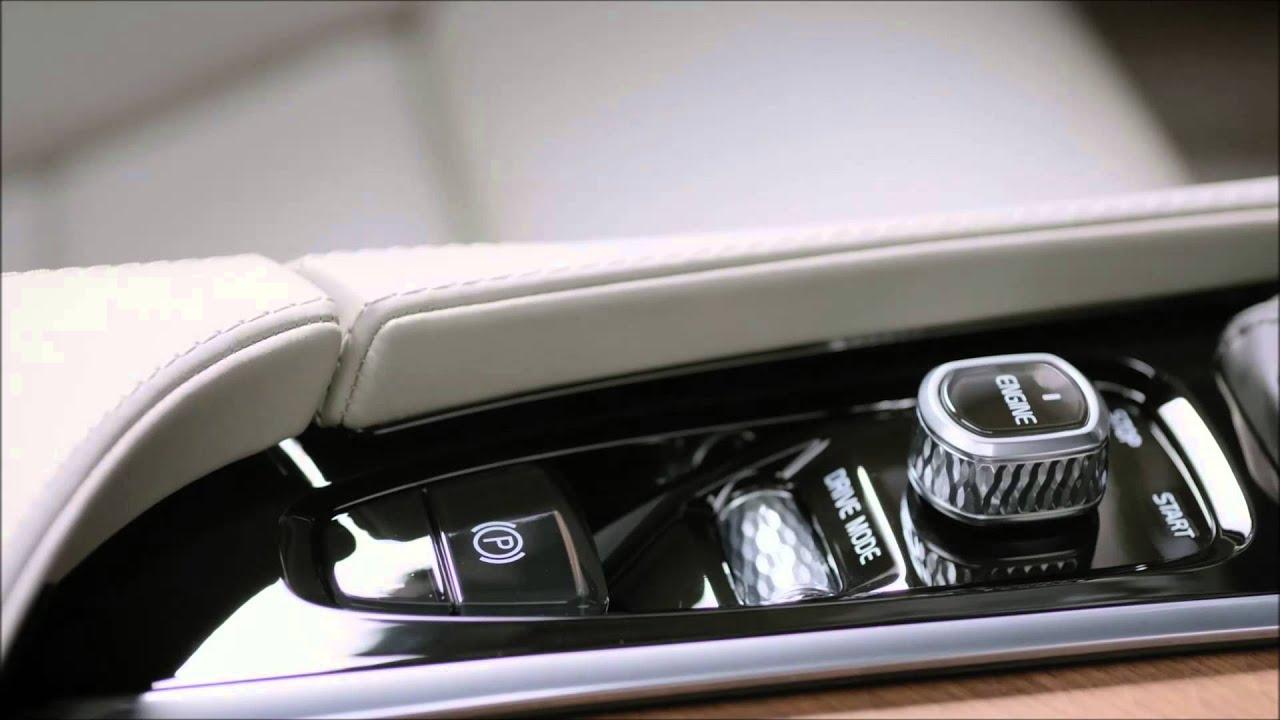 De nieuwe Volvo V90 interieur - YouTube