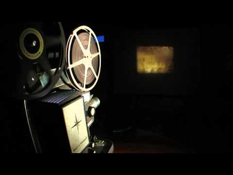 Free HD Stock Film 8mm Projector broll
