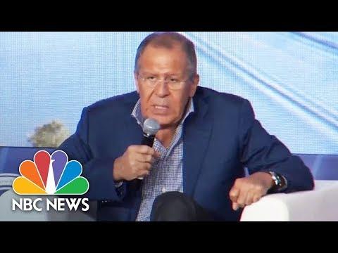 Lavrov Reveals Russian-Chinese Plan To Defuse North Korea Crisis | NBC News