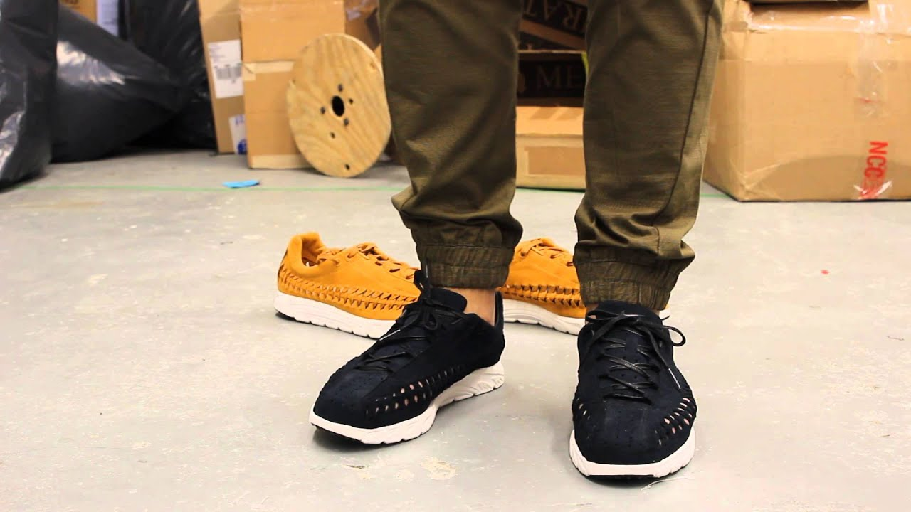 Nike Mayfly Woven QS - Black - White On-feet Video at Exclucity - YouTube