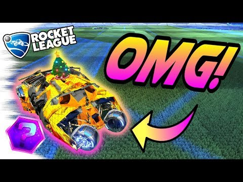 Rocket League Gameplay: MYSTERY DECALS on the TUMBLER BATMOBILE Is CRAZY! - Trading (1v1 Goals)