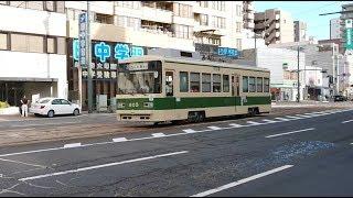 広島電鉄800形805号 土橋〜十日市町
