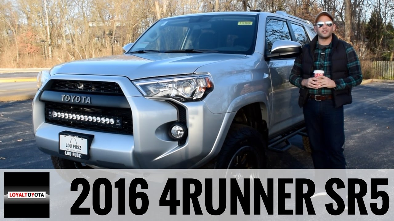 2016 Toyota 4runner Sr5 4x4 Custom Loyaldriven Youtube
