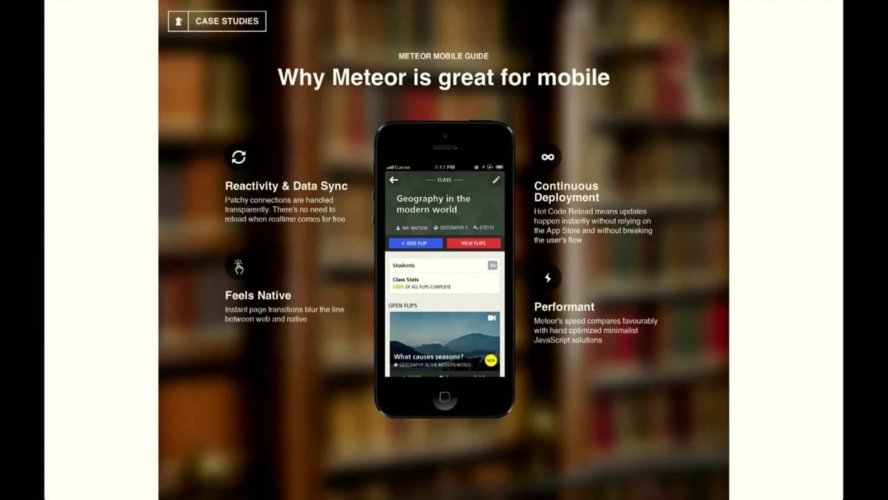 Percolate Studio: How to get your Meteor app into the App Store -- Devshop 8 Tech Talk