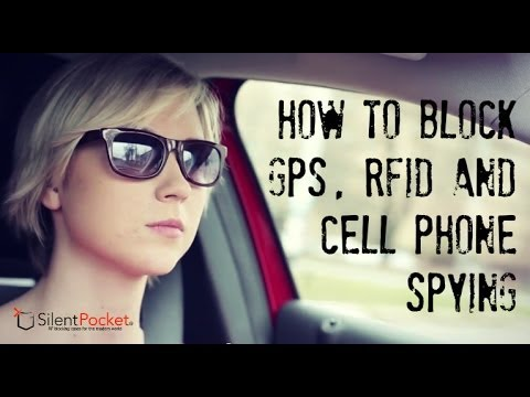 Block GPS Tracking, Cell Spying and RFID Skimming - Silent Pocket