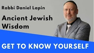 Rabbi Daniel Lapin: Get to Know Yourself