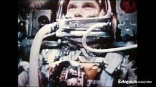 Mercury astronaut John Glenn recalls first orbit flight