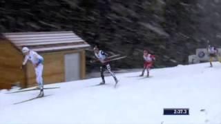 Tour de Ski 2013/2014: Hanna Erikson och Calle Halfvarsson gjorde strålande insatser