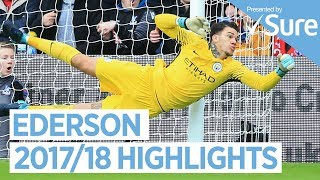 EDERSON | INCREDIBLE DEBUT SEASON | Best of 2017/18