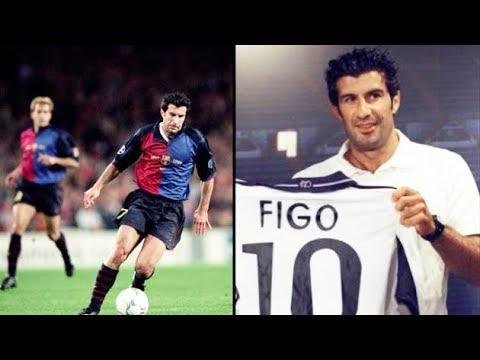 Luis Figo | Barcelona's HERO Who Turned ENEMY | Unseen Footage