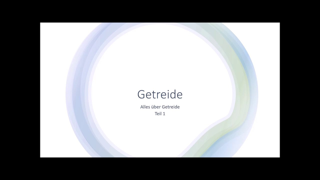 Download Getreide Teil 1