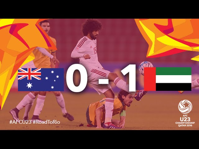 Video: U23 Australia vs U23 UAE
