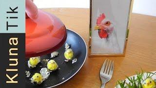 Eating living baby CHICKS for EASTER - Kluna Tik Dinner #10   ASMR eating sounds no talk
