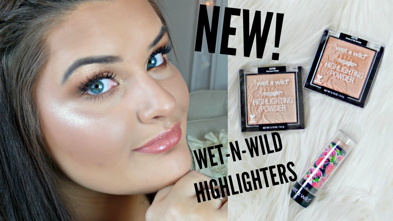 New Wet N Wild Megaglo Highlighters Review 2016 Youtube