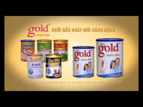 """Sữa bột Gold Milk  """"sữa chất lượng vàng"""""""