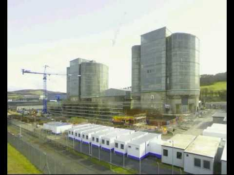 Hunterston A: Timelapse from tower