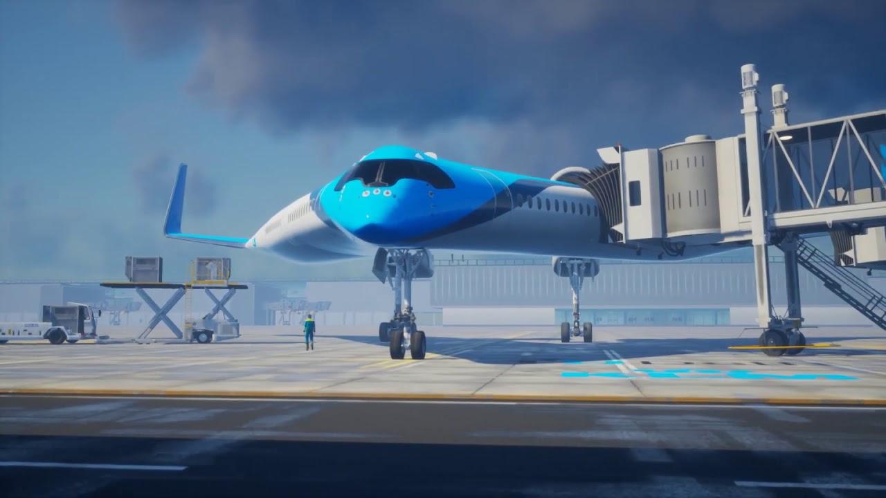 Ini Dia Pesawat Terbang Masa Depan: Flying V | Papua Kini