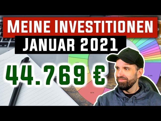 Meine Investitionen im Januar 2021 📊