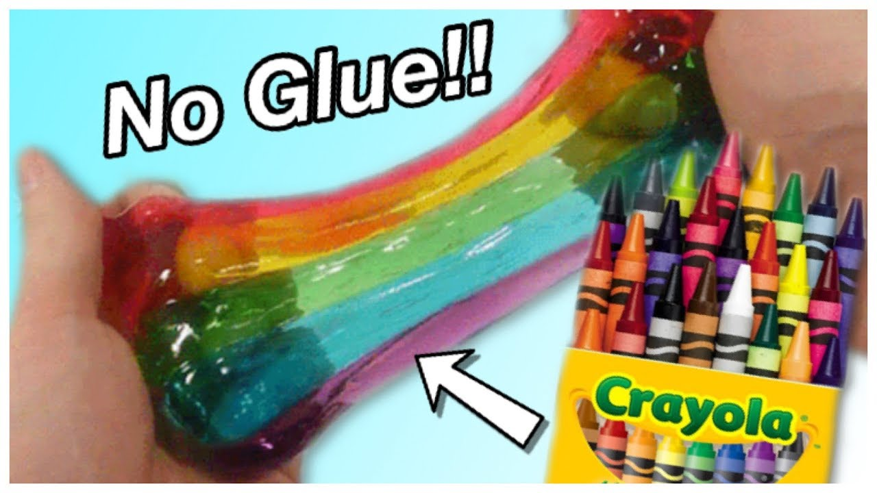 Crayon slime no glue school supply slime youtube no glue school supply slime ccuart Choice Image