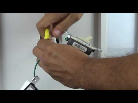 hook up dimmer switch
