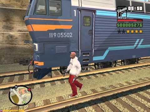 GTA San Andreas - Свободная игра
