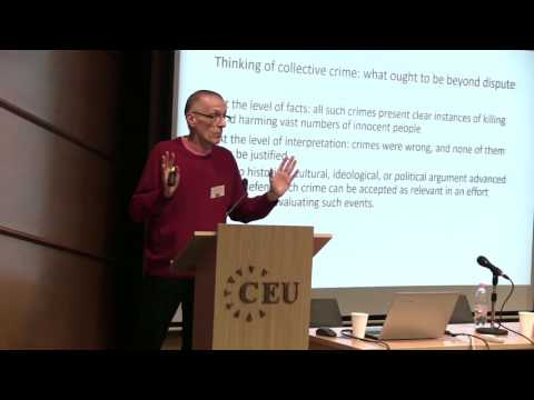 Nenad Dimitrijevic - Coming to terms with collective crime: responsibility as acknowledgment