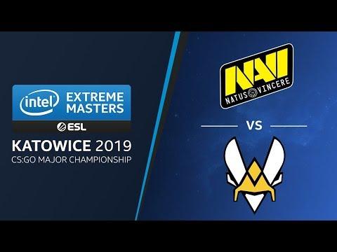 CS:GO - NaVi Vs. Vitality [Mirage] Swiss Ro2 - Legends Stage - IEM Katowice 2019