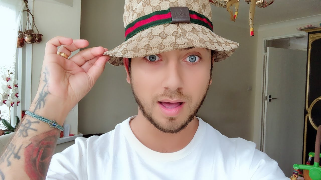 1ae1843256 gucci Bucket hat cap gucci review - YouTube