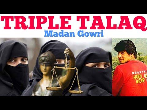 Triple Talaq | Tamil | Madan Gowri | MG