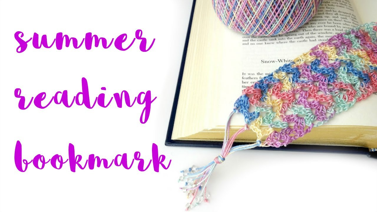 How to crochet the summer reading bookmark episode 215 youtube bankloansurffo Gallery