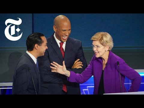 The First 2019 Democratic Debate: Key Moments, Day 1 | NYT News