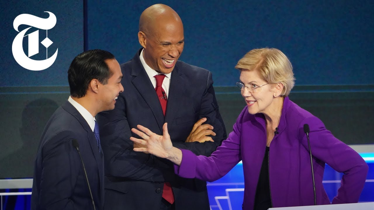 The First 2019 Democratic Debate: Key Moments, Day 1   NYT News