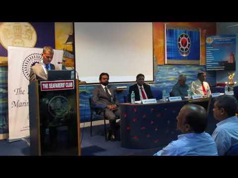 "World Maritime Day'17-Shri. Shyamghana Barik speaks on the theme ""Connecting Ships,Ports and People"""