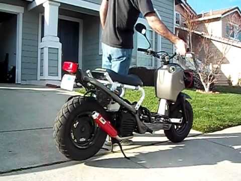 2008 Honda Ruckus With Mods And Upgrades Youtube