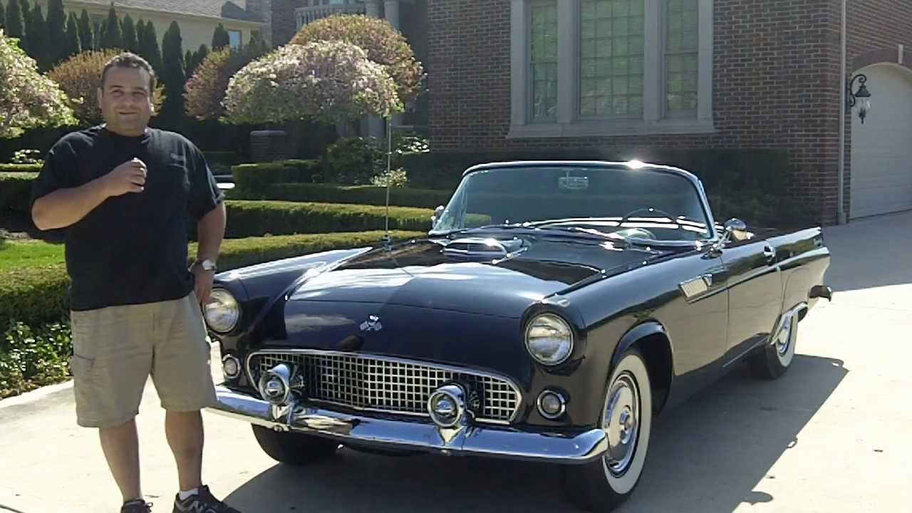 1955 Ford Thunderbird Convertible Classic Muscle Car for Sale in ...