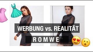 Werbung vs. Realität! China Onlineshop ROMWE👗
