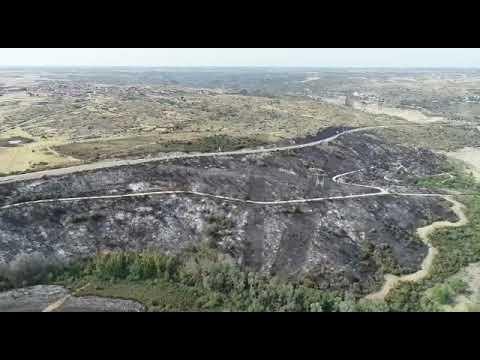 Por todos los que entre ayer y hoy han contribuido a la extinción del incendio Muelas-Ricobayo