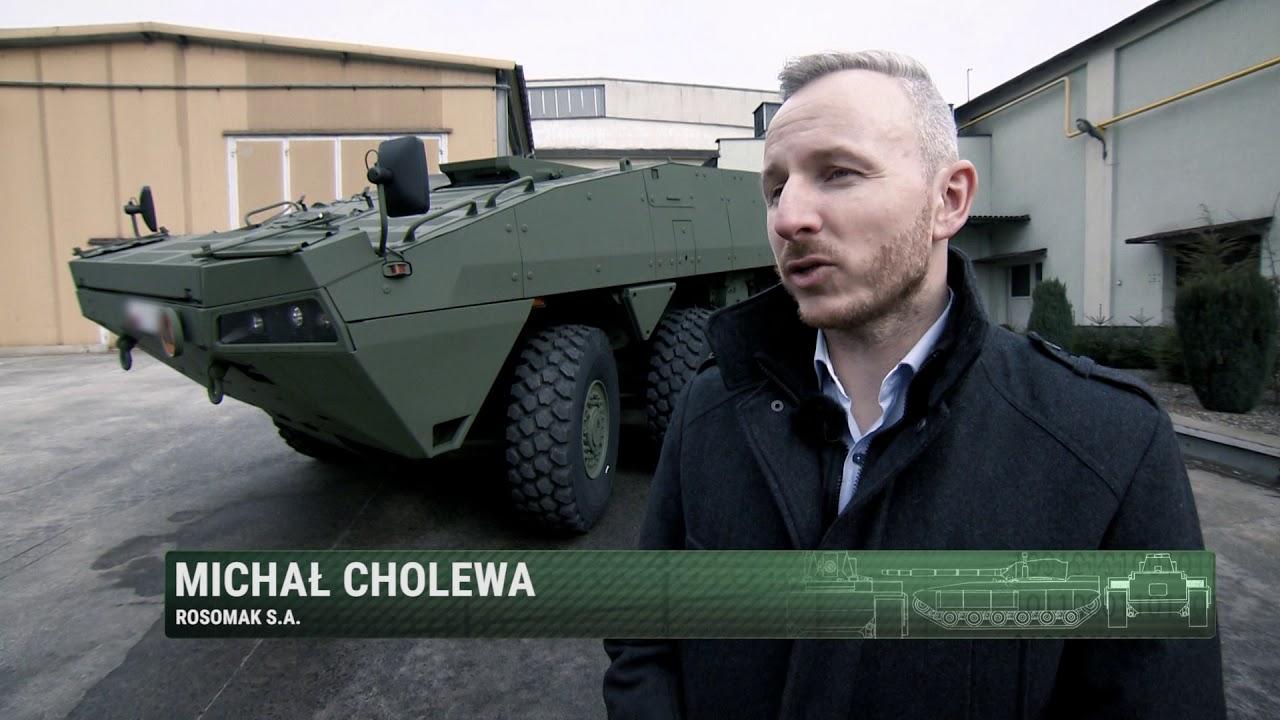 Magazyn Wojskowy (Telewizja Republika) odc. 39 - Rosomak, czyli Zielony Diabeł