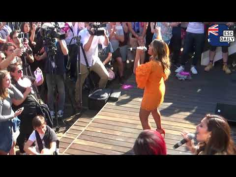 Jessica Mauboy - We got love (live at the Australian embassy party in Lisbon)