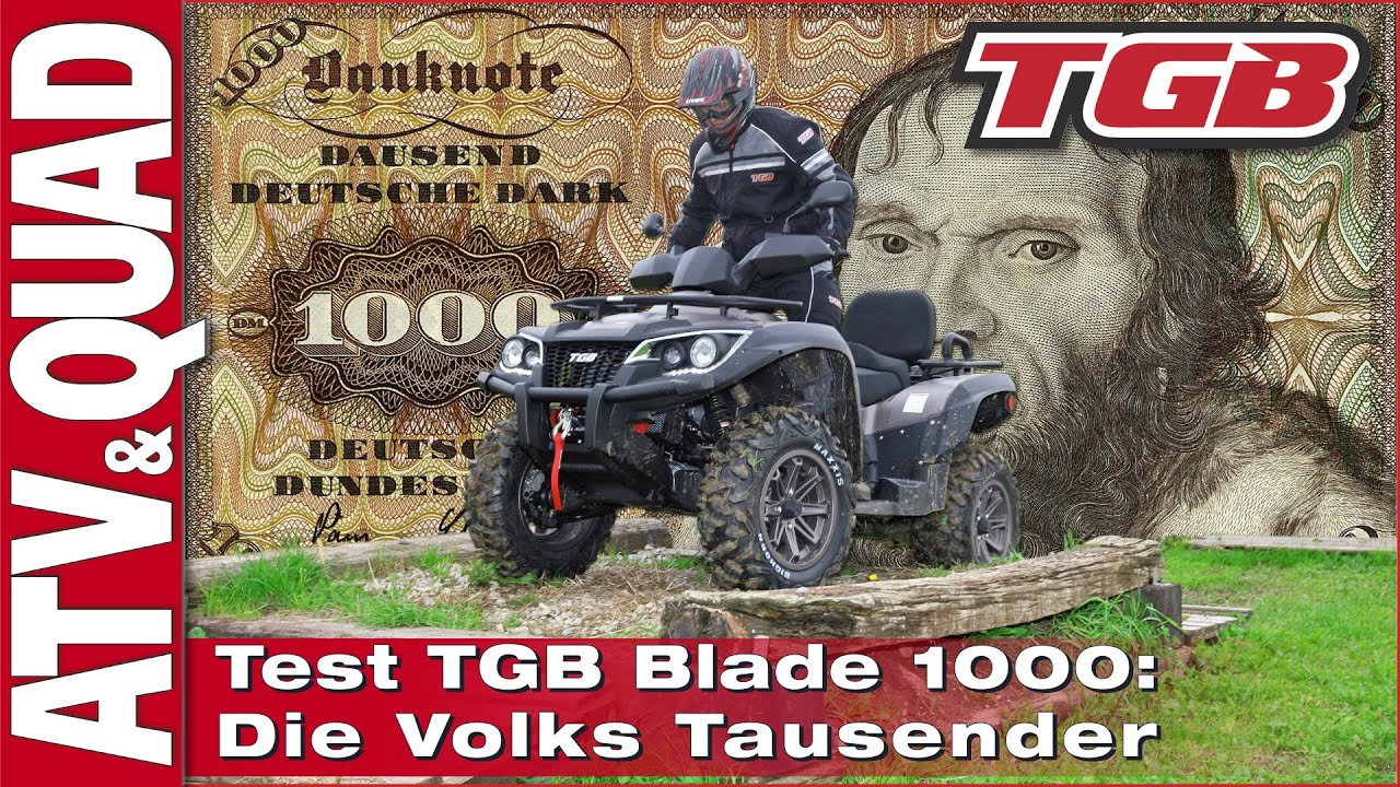 tgb blade 1000 lt v twin die volks tausender youtube. Black Bedroom Furniture Sets. Home Design Ideas