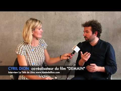 DEMAIN: Interview de Cyril Dion avant la sortie en film