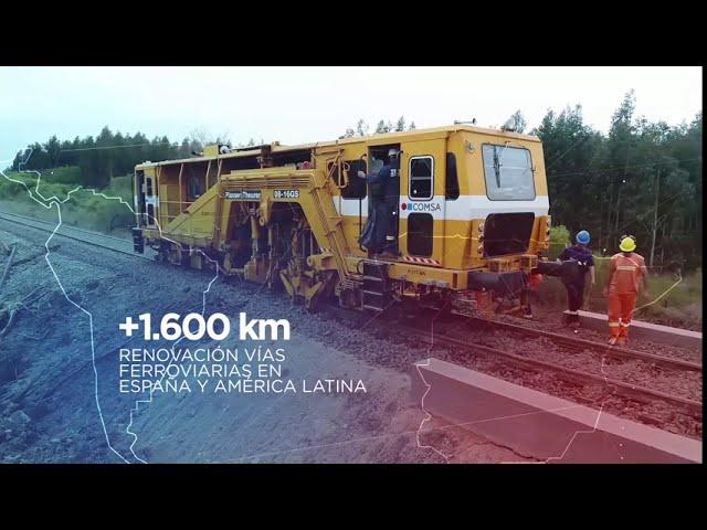 Vídeo corporativo COMSA Corporación (versión reducida)