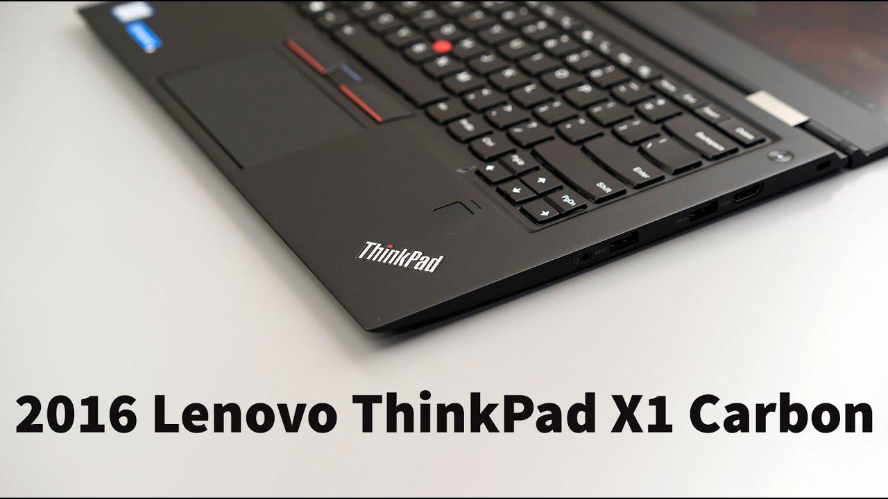 Lenovo Thinkpad X1 Carbon Review 4th Gen 2016 Youtube