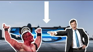 John Cena FLIPS Ford GT Supercar!! * Ford is FURIOUS *