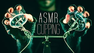 ASMR Cupping w/ Soft Tapping 😴NO TALKING for SLEEP