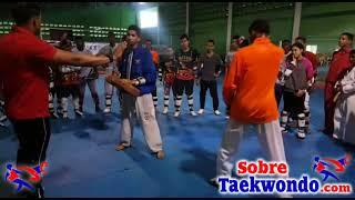 Entrenamiento de rapidez de reacción en Taekwondo