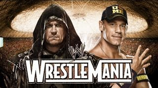 The Undertaker vs John Cena Wrestlemania 31 Promo HD (New Edition)