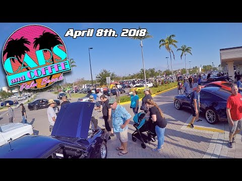 Cars and Coffee Palm Beach - April 8th, 2018