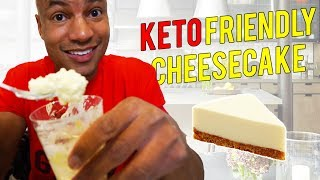 Low Carb Cheesecake Recipe | (Ketogenic Diet Friendly)