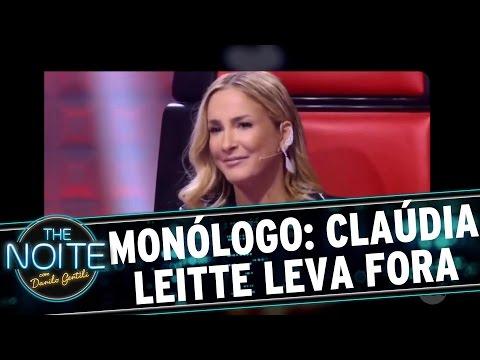 The Noite (17/10/16) - Monólogo: Candidato dá fora em Claudia Leitte
